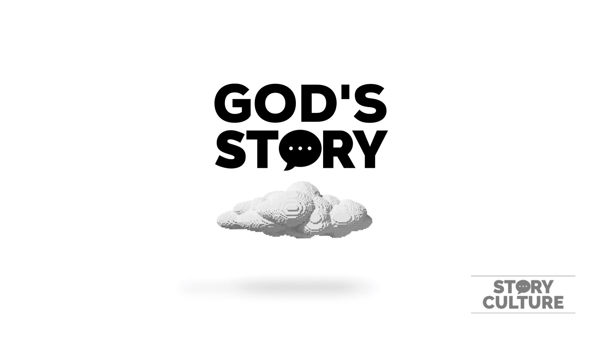 God's Story lego cloud
