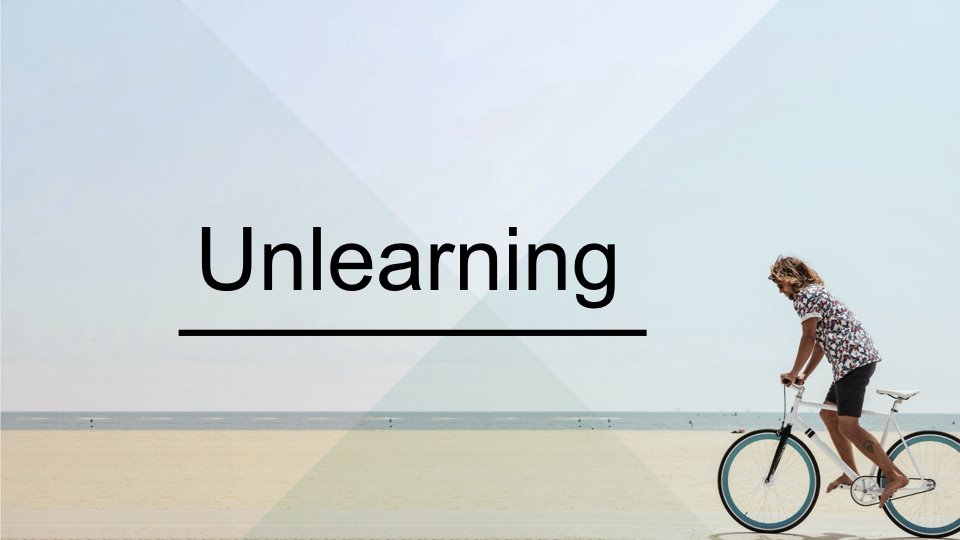 Unlearning - Paul Bartlett