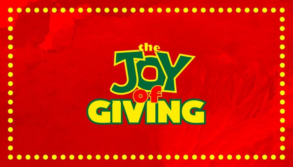The Joy of Giving