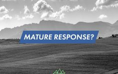 Mature Response - Dave Belfield - Today's Community Church, Wigan