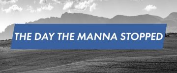 The day the manna stopped - Stephen Matthew - Podcast