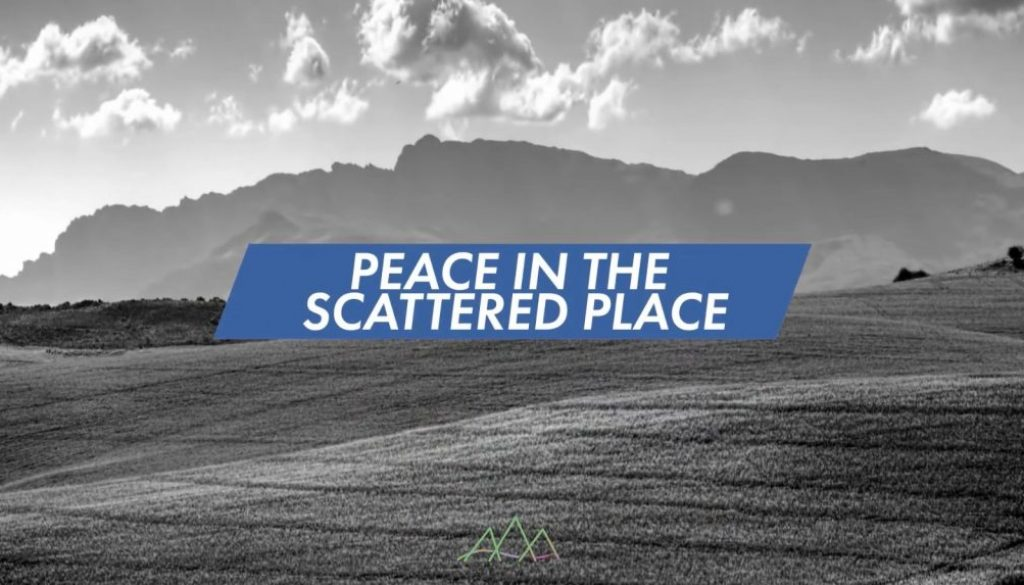 Peace in the scattered places - Steve Matthew