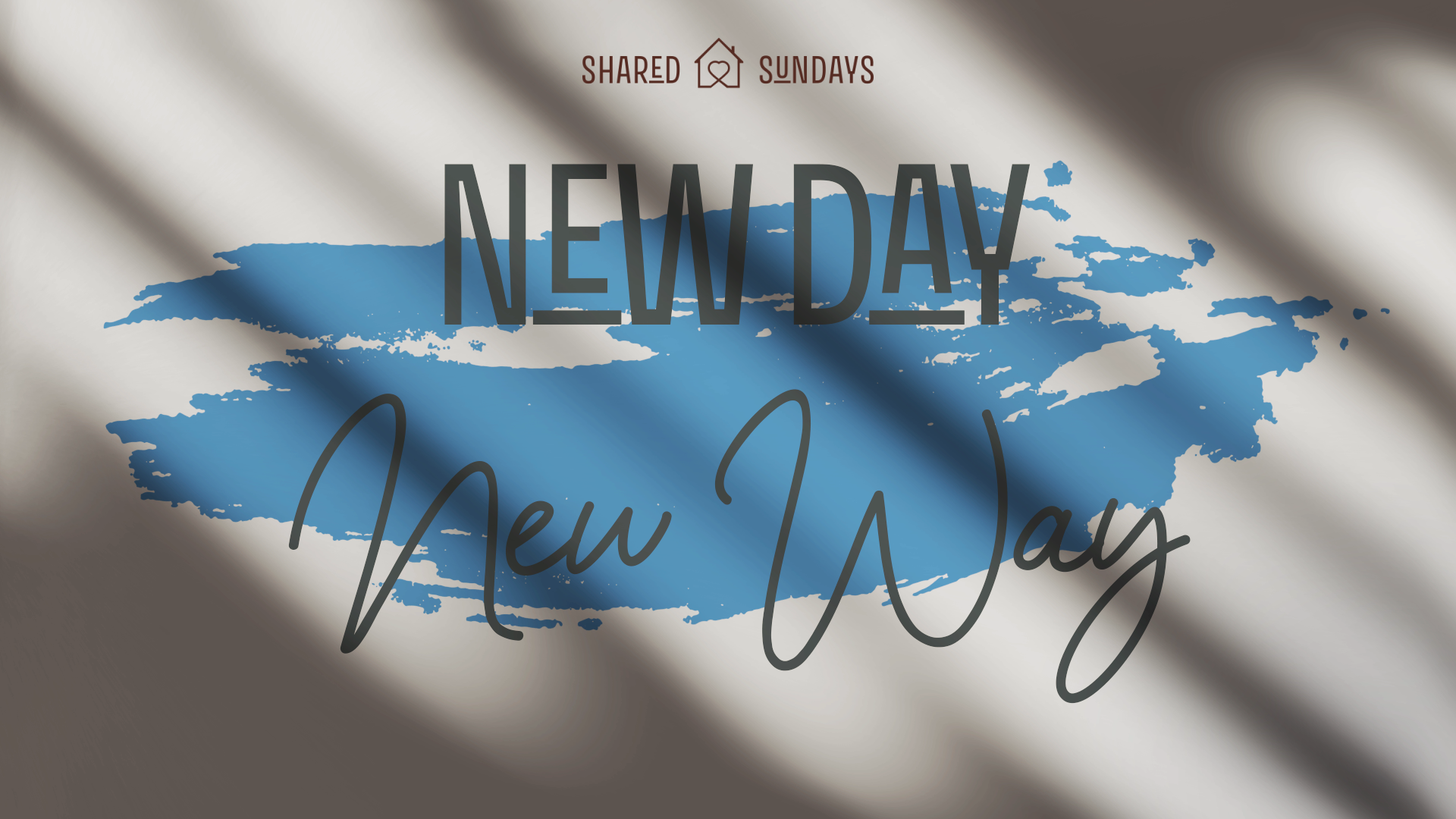 New way, new day - Dave Belfield - Today's Community Church Wigan